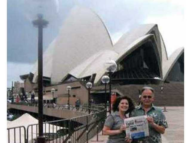 Jim and Coni Witowski of Castaic recently returned from an incredible 18-day vacation to Australia and New Zealand, including a 12-day Princess Cruise. They spent a few days in Sydney and are shown here by the Sydney Opera House.