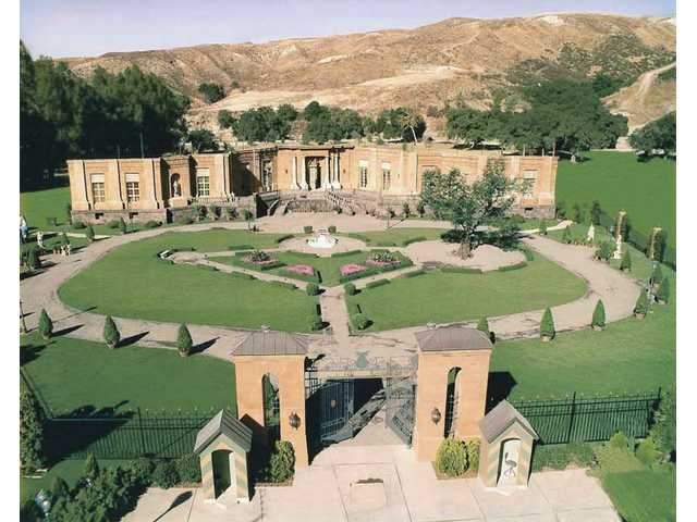 "Pictured is the set from ""The Princess Diaries 2: Royal Engagement,"" filmed at Disney's 50-year-old Golden Oak Ranch."