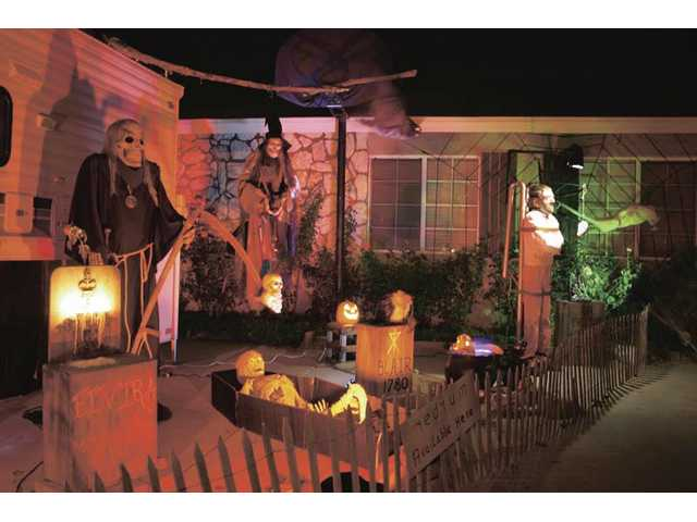 Schaefer's Scary Yard is a very popular haunt for those who live in the SCV and well beyond.