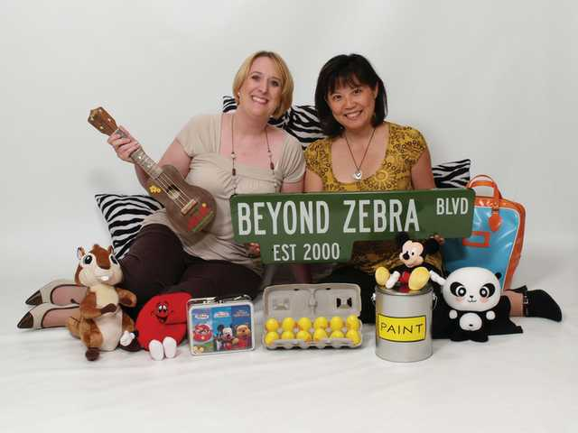 Stacey Burleson and Yerri Yamate-Ottengheime began working on their promotional-products company, Beyond Zebra, two days after they received a pink slip from their employer in 2000.