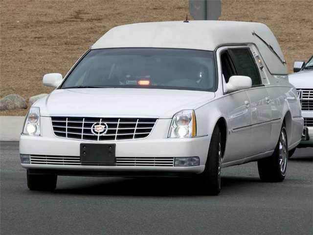 The hearse.