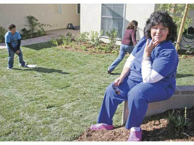 New lawn donated to fire victim