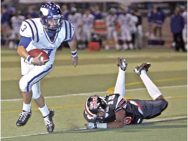 With some emphasis: Valencia football tops Hart