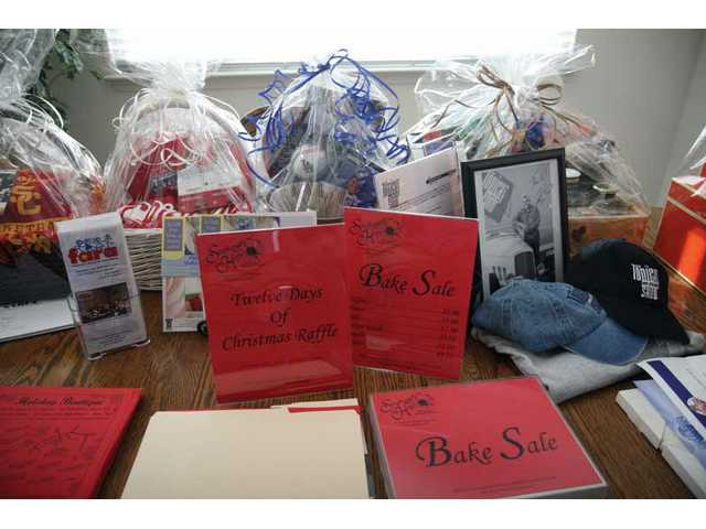With the help of friends and family, Stephanie Magness has collected many donated items which will be up for sale Saturday during the Holiday Boutique at Rio Norte Junior High. All money collected will go to the reasearch of F.A.
