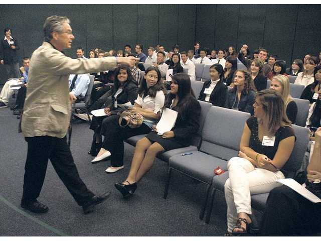 Down to business: High school students get a lesson about the working world