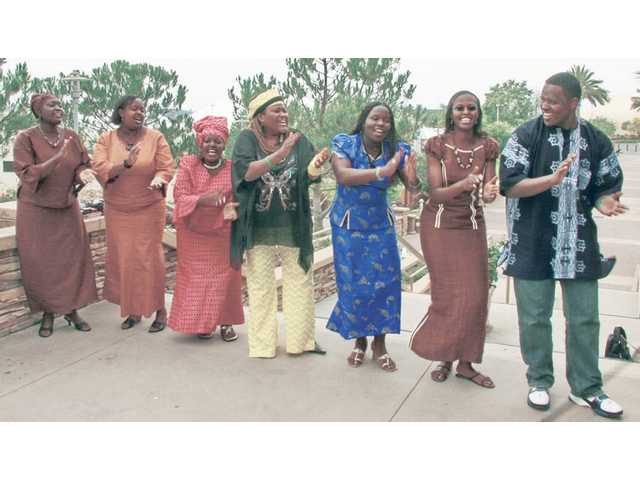 The group Afrizo will put on a free performance at 7:30 p.m. on Friday at First Presbyterian Church in Newhall.