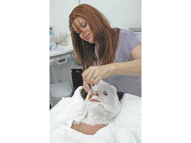Paraffin facials are another treatment Lark Landy recommended for dry skin.