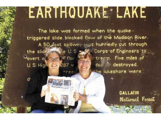 Myrna and Jessica Fein visited Earthquake Lake in Montana last summer.