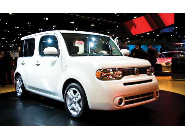 The Nissan Cube is among 20 world debuts unveiled at the L.A. Auto Show.