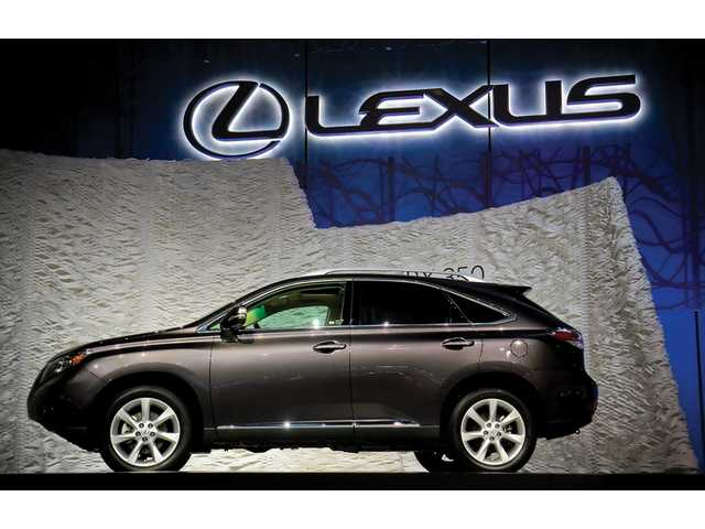 The Lexus RX 450 is among the 20 world debuts unveiled at the L.A. Auto Show.