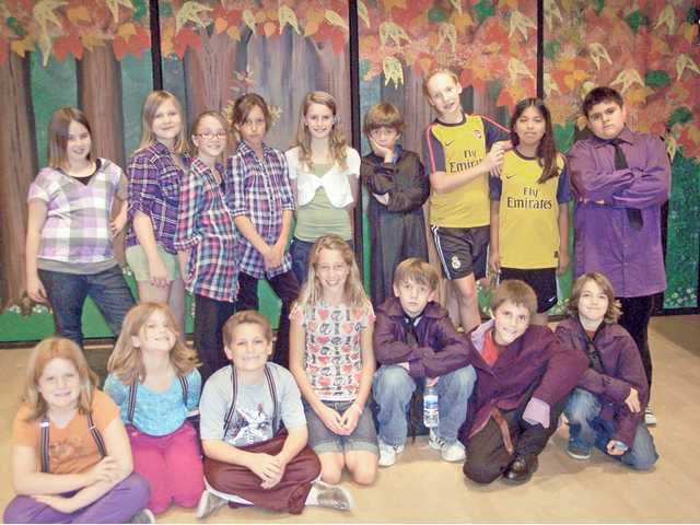 "The ""reality"" cast of ""Mirror Image Jr."" presented at Old Orchard Elementary School in Newhall. Cast members included: (not in order above) Abbie Kuch, Mia Altenau, Michael Weissman, Natalea Daily, Mary Margaret Walsh, Natalia Lodl, Kristin Hill, Danny Lopez, Joshua Botoglou, Garret Alacantara, Harry Speight, Jessica Reyna, Clara Speight, Madeline Miller, Madison Miller, Collin Gore and Adam Miller. The show benefited the Old Orchard Education Foundation."