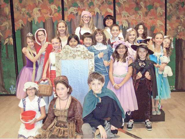 "The ""fantasy"" cast of ""Mirror Image Jr."" presented at Old Orchard Elementary School in Newhall. Cast members included: (not in order above) Sarah Coblentz, Lilly Bollinger, Kara Sargeant, Dillon Vega, Paul Kim, Kaitlyn Bollinger, Brianna Helsley, Amanda Bollinger, Brianna Bricker, Megan Mekelburg, Sophia Mateo, Natalie Garcia, Nancy Insua, Michael Mateo, Aubrey Domke, Skylar Miller, Ariana Salinas, Finn Kobler and Brittney Helsley."