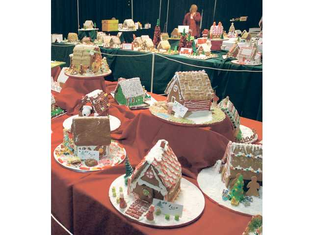 Hundreds of gingerbread houses were on display at the Festival of Trees, a three-day event to benefit the Boys & Girls Club of the Santa Clarita Valley.
