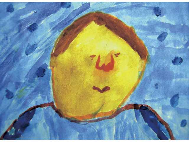 Visual Arts: Jessica Everitt grade 4, first place.