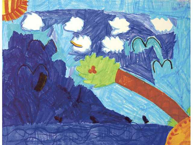 Visual Arts: Skyler Perez, grade 2, first place.