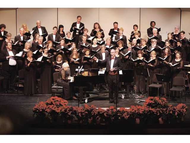The Santa Clarita Master Chorale will perform at the Santa Clarita Performing Arts Center.