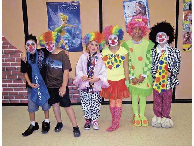 The cast included: (top left) Yousaf Fhilji, Johnny Sagredo-Triplet, Megan Ballou, Callie Gustafson, Shannon Soto and Lauren Ballou, not pictured Emma Armendariz