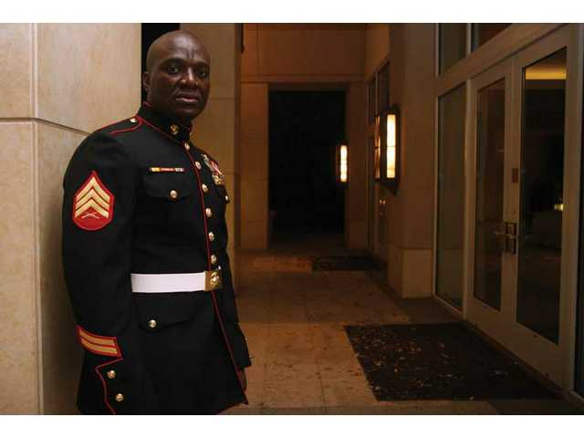 Tchicaya Missamou escaped from life as a child solider in the Democratic Republic of the Congo 10 years ago, moving to America and eventually serving in the United States Marine Corps. He now lives in the Santa Clarita Valley and owns Warrior Fitness Camp.