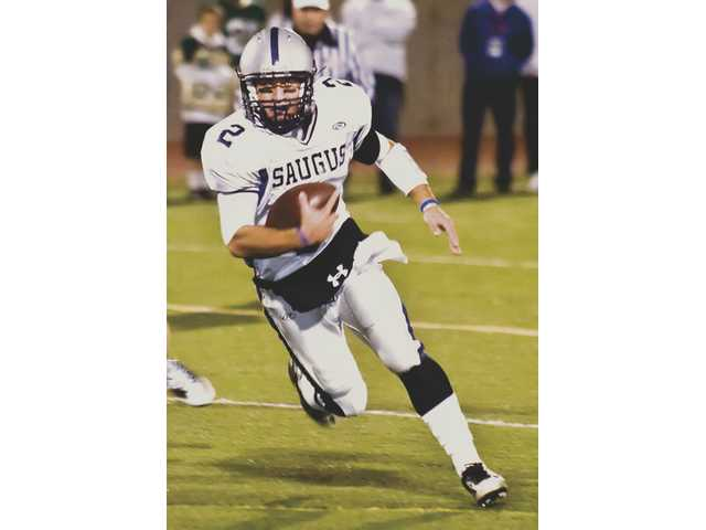Saugus quarterback Desi Rodriguez named Foothill League Player of the Year. Saugus running back Ryan Zirbel named Offensive Player of the Year. Centurion Robert Donathan named Lineman of the Year and Valencia's Drew LaVoise named Defensive Player of the Year for the 2008 football season.