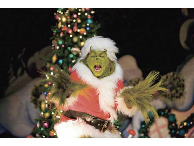 Catch the Grinch at Universal Studios Hollywood this holiday season, from Dec. 19 through Dec. 31.