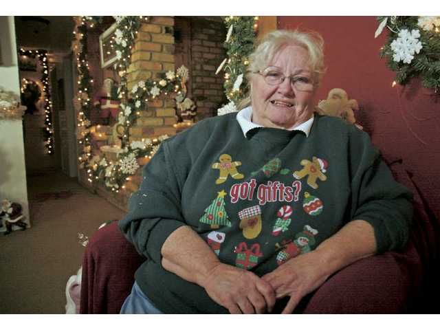 Gayle Mitchell has been displaying Christmas decorations outside and inside her Newhall home for decades. This year she was the first place winner in The Signal's 16th annual Holiday Light Tour.