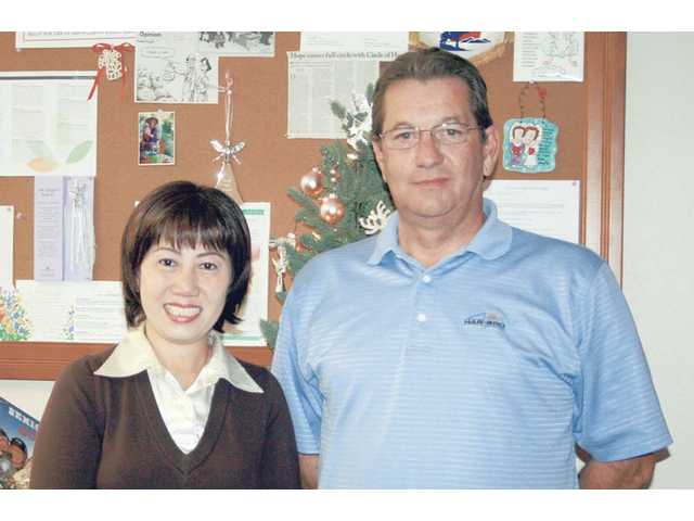 Kim Le (above left) is battling metastaic breast cancer and needs help from the SCV to stay in her home with her family. Paul Waddell of Har-Bro, along with other employees is working to secure donations to help during the holidays.