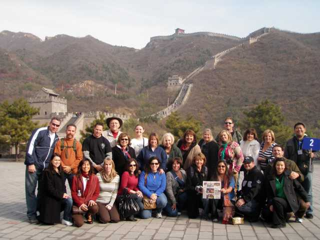 Members of the Santa Clarita Valley Chamber of Commerce visited the Great Wall of China in November. Pictured are Steven and Ann McCauley, Chris and Cristina Wyatt, Robert and Carolyn Morris, B.J. and Jeannie Atkins, Tina Haddad, Lindsay Olivera, Linda Fleischmann, Susan Lederman, Linda Rigney, Martha Gillespy, Robin Choppe, Pam Ingram, Kim Kurowksi, Nichole Swanson, Gary Choppe, Jenny and Tim Ketchepaw, Judy Kennedy, Rhona Jukes, Carlo Pietrosanti and Melissa Verna.