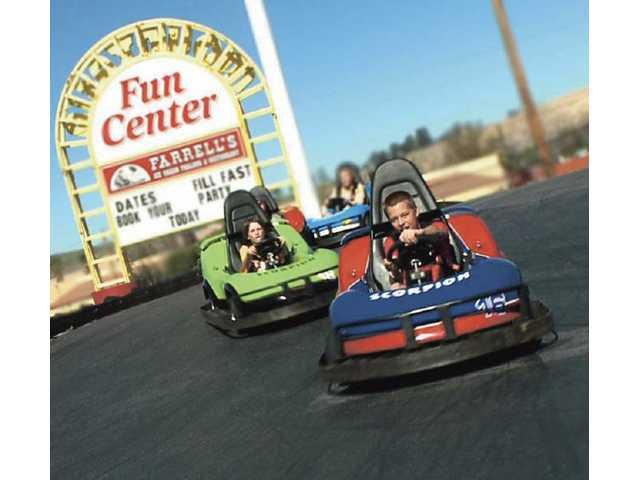 Mountasia Family Fun Center provides family fun on New Year's Eve from 10 a.m. to 7 p.m. For $19.99 you get four hours of unlimited use of go karts, rock wall, bumper boats, miniature golf and lazer tag.