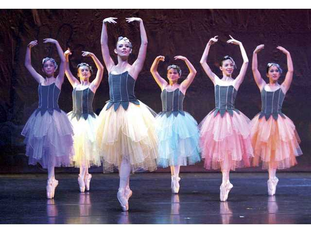 """The Dance of the Sugar Plum Fairy"" is performed."