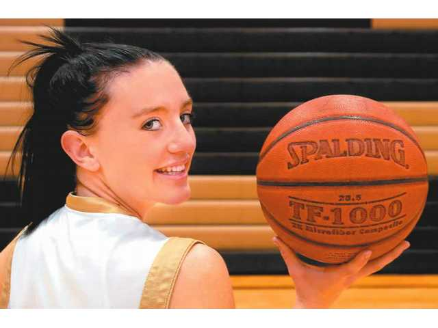 Golden Valley High senior basketball player Tera McKelvey, a four-year team captain, will be playing her final game as a Grizzly tonight when her team plays West Ranch.