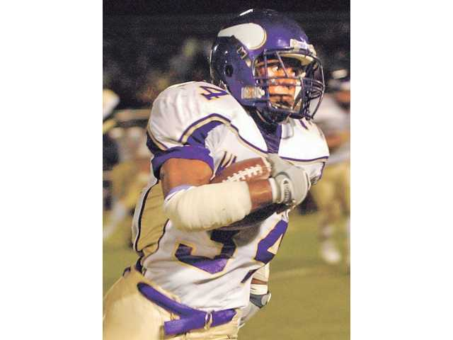 Valencia High's Shane Vereen was a three-sport athlete who shined the brightest on the football field.