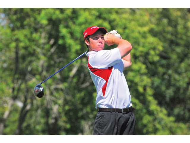 Saugus High graduate and Cal State Northridge golfer Nick Delio will be competing in the NCAA Division I Men's Golf Championships, which begin today in Chattanooga, Tennessee. But don't expect the reserved Delio to brag about it.