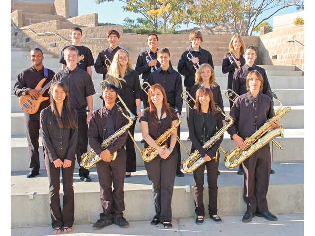 The students from the West Ranch Lab Band. West Ranch recently hosted a Super Jazz festival, which became a major fundraiser for the bands involved.