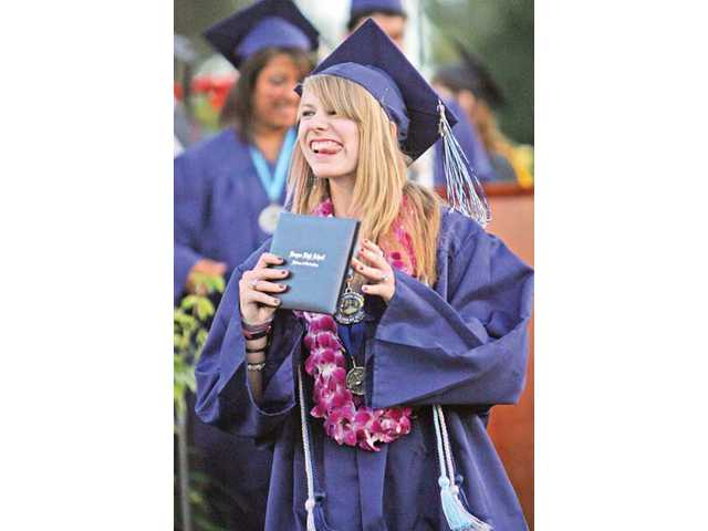 2010 graduations: Saugus High, grateful and giving