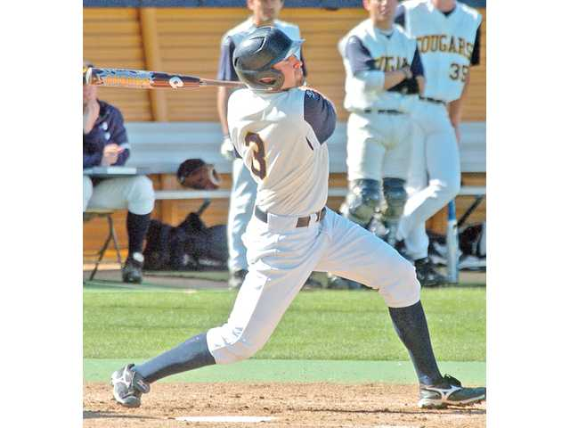 West Ranch graduate and College of the Canyons outfielder Cal Vogelsang was selected in the 37th round of the MLB First-Year Player Draft by the Los Angeles Dodgers on Wednesday.