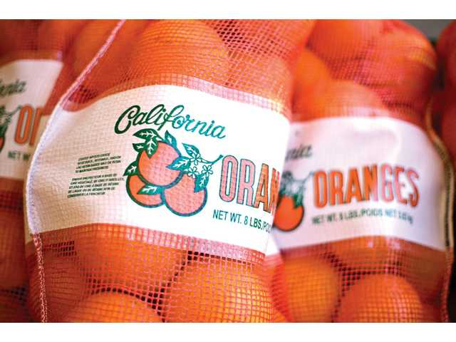 Oranges from Francisco's Fruits, also located in Fillmore off Highway 126, are picked straight from the farm located on the premises.