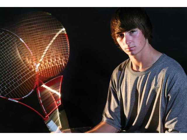 2010 All-SCV Boys Tennis Singles Team: Two for one