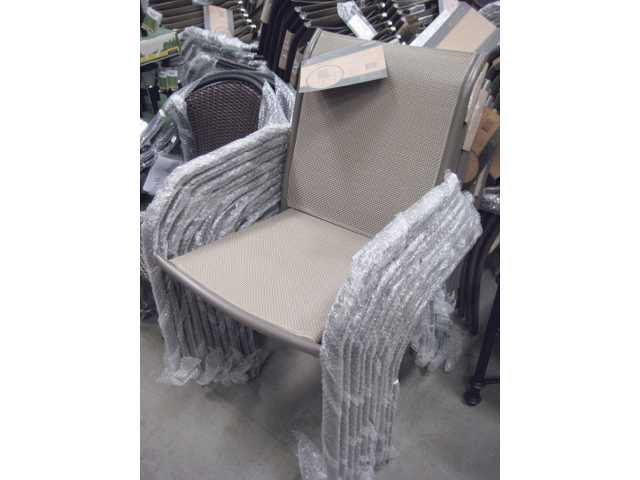 Driscoll patio chairs ($20).