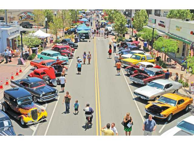 Old Town Newhall car show