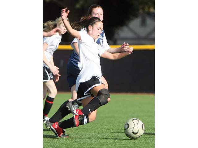 Santa Clarita Christian striker Kayla Gale paced the Cardinals' offense during the final season of her superb career.