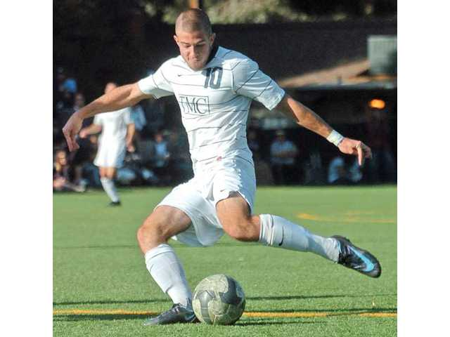 The Master's College forward Jacob Marchesani led the men's soccer team to the Golden State Athletic Conference title, and the Mustangs finished as NAIA runners-up.