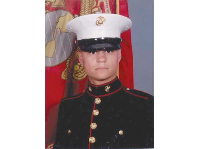 Private G.J. Guevara, 21, of Canyon Country, graduated from the United States Marine Corps boot camp at Marine Corps Recruit Depot San Diego on May 21, Private Guevara successfully completed 13 weeks of intensive basic training at MCRD San Diego as one of 353 recruits in Traning Platoon 3249.