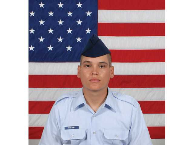 Air Force Airman Diego F. Martinez graduated from basic military training at Lackland Air Force Base, San Antonio, Texas.