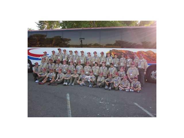 Boy Scout Troop 830 attends jamboree in Virginia