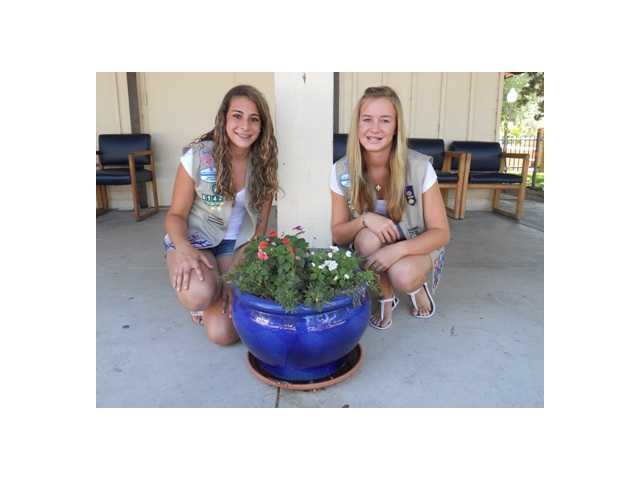 Local Girl Scouts make a difference at Senior Center