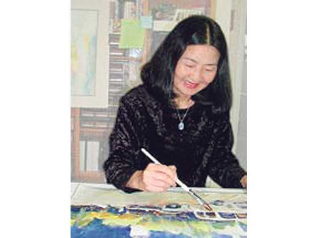 Watercolor artist Fealing Lin will appear at the Santa Clarita Artists' Assocation.