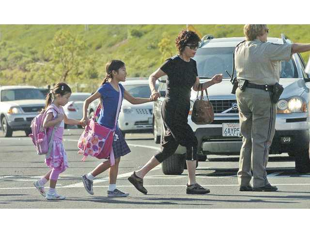 Busy hallways, bustling classrooms: The SCV heads back to school