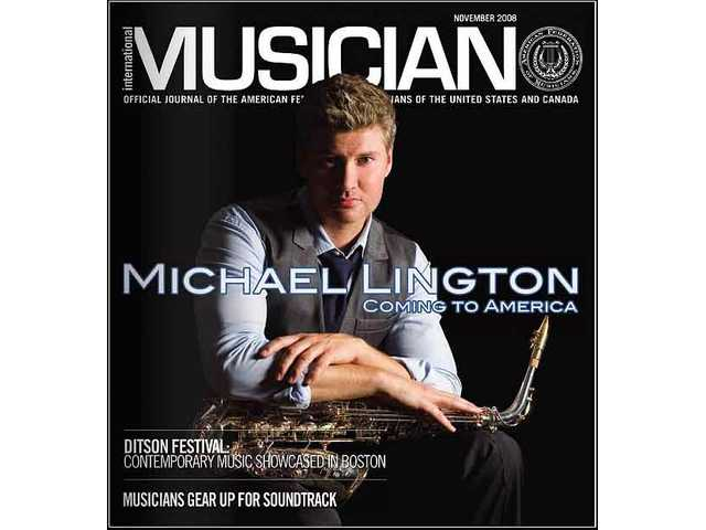 Saxophone player Michael Lington will open for Michael Bolton at the Santa Clarita Performing Arts Center at College of the Canyons Saturday night.