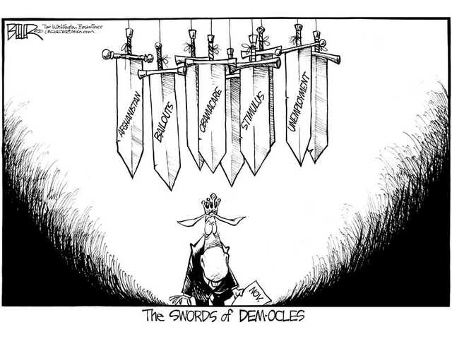 The Swords of Dem-ocles
