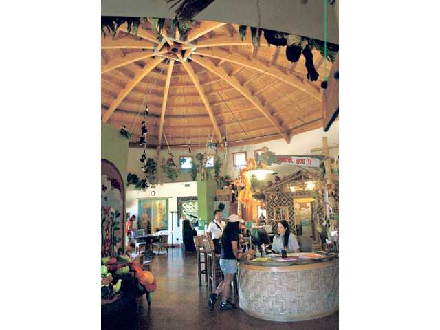 In keeping with the positive theme of the camp, the Painted Turtle's Well Shell medical building offers a whimsical, uplifting tone to the interior with its design and decorations.